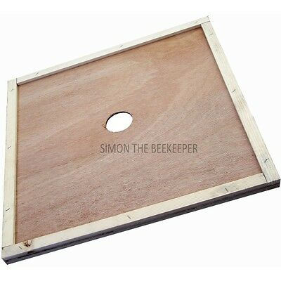 [UK] Beekeeping British National Bee Hive Central Hole Crown Board