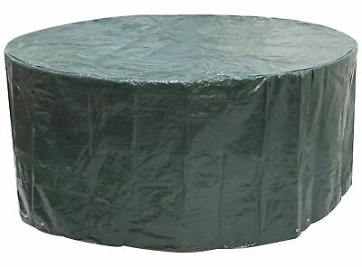 Woodside Large Round Waterproof Garden Patio Table Chair Set Furniture Cover
