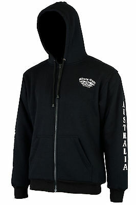 NEW MOTORCYCLE HOODY FULLY REINFORCED WITH DuPont™ KEVLAR® ARAMID FIBRE LOGO