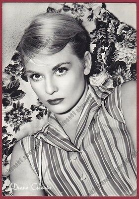 DIANE CILENTO 01 ATTRICE ACTRESS ACTRICE CINEMA MOVIE AUSTRALIA Cartolina FOTOGR