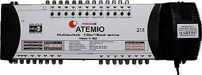 Atemio Premium Line 13 In 16 Out Multiswitch 2 Year Warranty Use With A Quad LNB