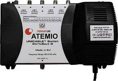 Atemio Unicable Multi-Line Premium-Line 4 In x 1 Out Up To 8 Receivers