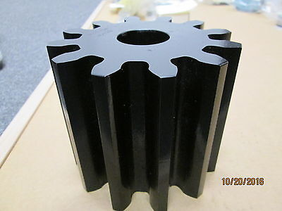 "New, Boston No12B Spur Gear, 12 Teeth, 3 Dp, 14-1/2 Pa, 1-5/16"" Plain Bore."