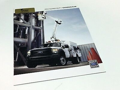 2012 Ford Super Duty Chassis Cab XL XLT Lariat Brochure