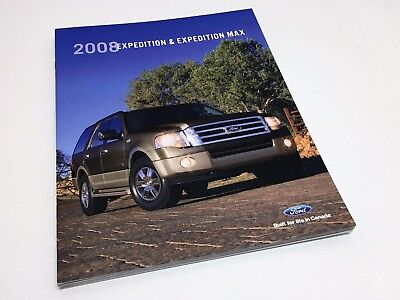 2008 Ford Expedition & Max XLT Eddie Bauer King Ranch Limited Brochure