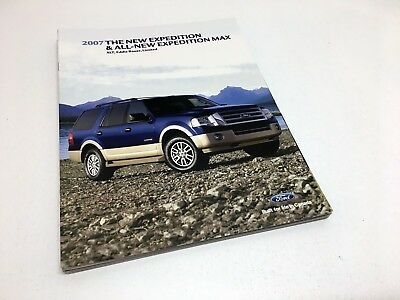 2007 Ford Expedition Max XLT Eddie Bauer Lmited Brochure