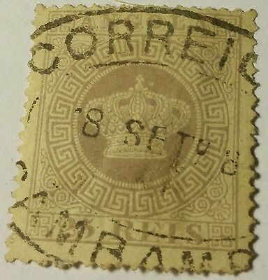 Angola   Scott#12   Used Stamp...worldwide Stamps