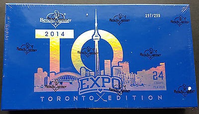 Benchwarmer Toronto Fall Expo Edition Hobby Box 2014 Limited to /299