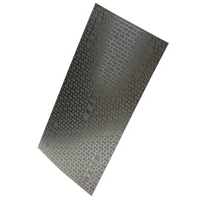 """400 Grit 6.3"""" x 3.5"""" DMD Diamond Coated Honeycomb Sandpaper Sheets Replacement"""