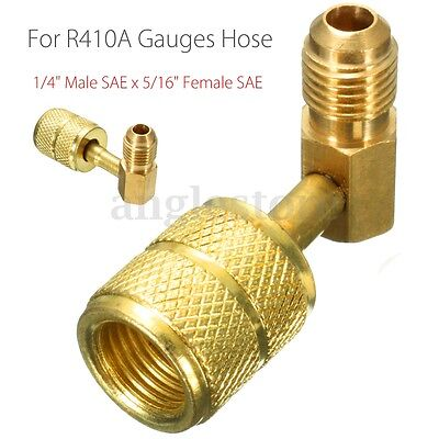 R410A Gauges Hose Air Conditioner Refrigeration Adapter Connector Adapto lqCRUK