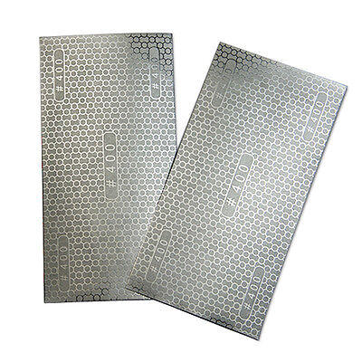 """Newest DMD Diamond Coated Honeycomb Replacement Sandpaper 400 Grit 7.8"""" x 4"""""""