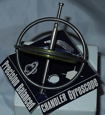 """Vintage toy """"The Wonderful Gyroscope"""" with instructions"""