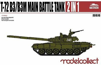 MODELCOLLECT UA72038 T-72 B3/B3M Main Battle Tank 2 in 1 in 1:72