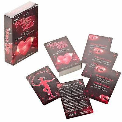Pillow Talk Intimate Card Game - Christmas Stocking Filler - Age 18+