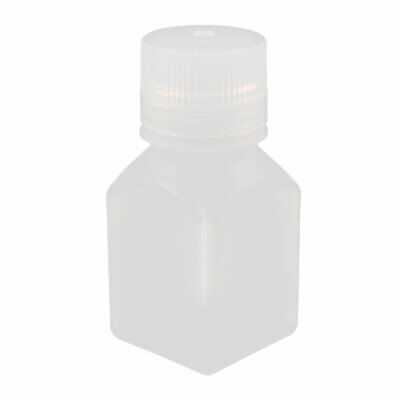 100ml PP Square Wide Mouth Seal Reagent Bottle Chemical Sample Bottle