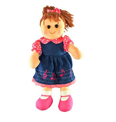 """Rag Doll EVIE by Hopscotch Collectibles ragdoll soft toy doll 14""""/35cm NEW"""