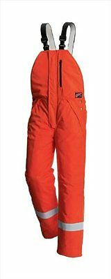 Red Wing FLAME RETARDANT ORANGE HI VIS BIB AND BRACE QUILT LINED