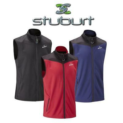 Stuburt Urban Bonded Fleece Gilet, Windproof & Thermal , Great for Golf! New