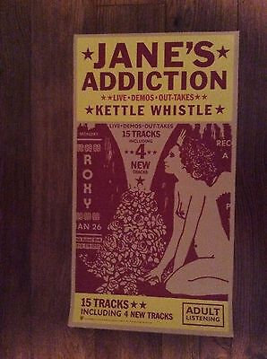 JANE'S ADDICTION: Vintage Promo Only Poster, Kettle Whistle, Scarce!