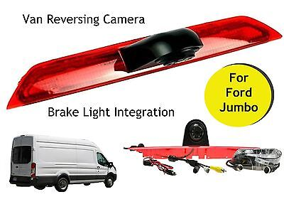 Ford Transit Jumbo Van Reversing Camera Kit For Brake Light 2014 - 2019