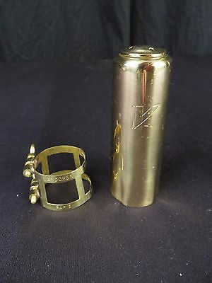 Vandoren Master's Tenor Saxophone Ligature and Cap Set, New Old Stock!