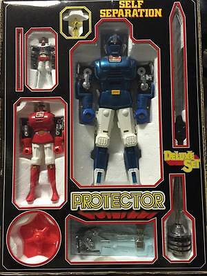 Gordian Protector Deluxe Set Die Cast Self Separation Anni 80' Usato Used