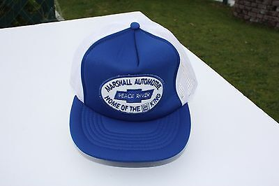 Ball Cap Hat - Chevrolet GM Marshall  - Peace River Alberta Auto Dealer (H1588)