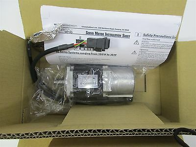 New Automation Direct SVL-204 Sure Servo AC Low Inertia Motor 400W 3000RPM 200V