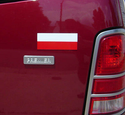 ~~ Polish Poland Flag VINYL Decal MAGNET ~~