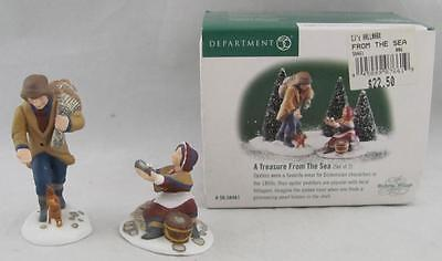 Dept 56 Dickens Village A Treasure From The Sea #58461 Set of 2