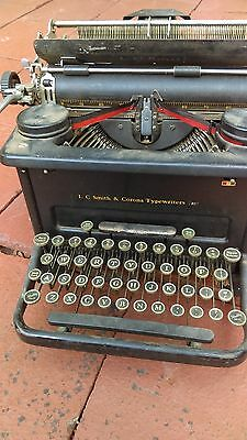 Estate Find L. C. Smith and Corona Typewriters Antique Typewriter great keys