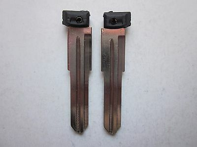 2 New Key Blank For Land Rover Keyless Remote Entry Fob Uncut Blade