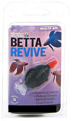Hikari Betta Revive .08 Oz Treats 5 Gallons Medicine Free Shipping To The Usa
