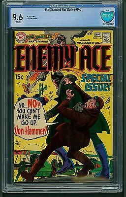 Star Spangled War Stories #146 (1969) CBCS Graded 9.6 ~ Enemy Ace ~ Not CGC