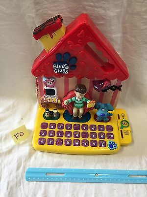 Blue's Clues Learning Computer Laptop Educational ABC Word Talking Lights Up Toy