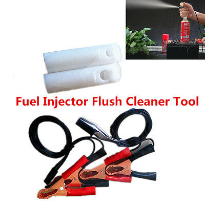 DIY Car Fuel Injector Flush Cleaner Engine Cleaner Adapter Tool Kit For All Cars