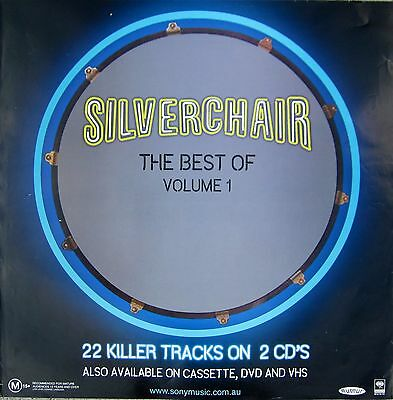 "SILVERCHAIR ""BEST OF VOL. 1"" AUSTRALIA PROMO POSTER - Album Cover Artwork"
