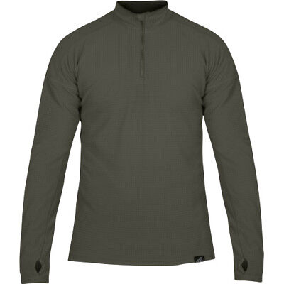 Paramo Grid Technic Mens Base Layer Top - Moss All Sizes