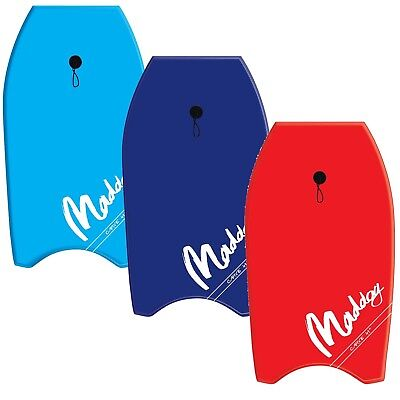 Maddog Carve Foam Body Board Boogie Board 33 Blue or Red