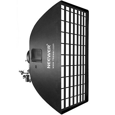 """Neewer 24""""x35""""/60x90cm Softbox with Grid and L-type Bracket for Speedlite"""