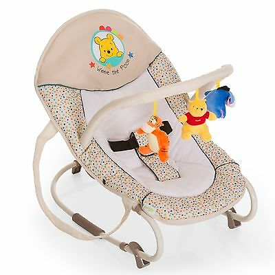 Hauck Disney Babywippe Bungee Deluxe Pooh Ready To Play NEU