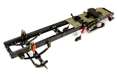 INTEGY Chassis Assembly 1/14 Tractor Truck C25745 BLACK  SCANIA MAN BENZ VOLVO