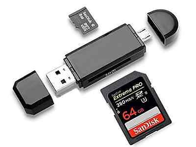 Top Dawg Electronics SD and MicroSD Card Reader for Android Phone or Tablet!
