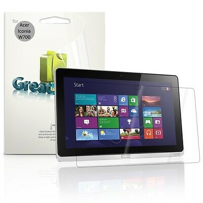 """GreatShield 3x HD Clear Screen Protector Guard Film for 11.6"""" Acer Iconia W700"""