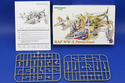 EDUARD 8508 WWII RAF Personnel Figuren in 1:48
