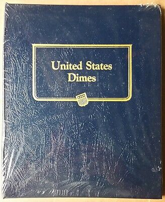 Brand New Wrapped Whitman Classic Album, 9134, Dimes, 3 Pages, Blank, No Dates