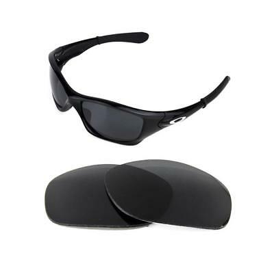 5e9ce8319119d NEW POLARIZED BLACK Replacement Lens For Oakley Pit Bull Sunglasses ...