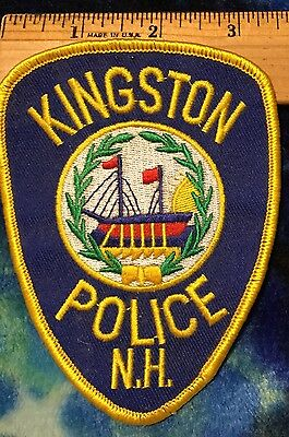 Kingston N.H.. Police Shoulder Patch