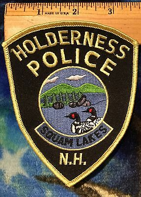 Squad Lakes N.H. Holderness Police Shoulder Patch