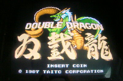 Double Dragon -- Technos / Boot-Leg / Working & Clean / Arcade Jamma Pcb *** 589